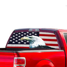 Perforated Decal Ford F150 Decal 2015 Present