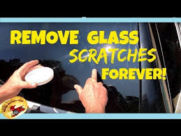 remove bad scratches in glass forever