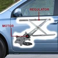 car door window regulator repair
