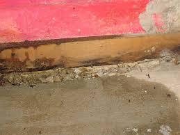 infiltration d eau au sous sol que