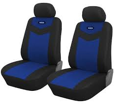 front seat car seat covers blue for