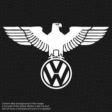 Volkswagon Eaglel Vinyl Window Decal Volkswagen Polo Volkswagon Vinyl Window Decals