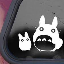 Bargain Max Totoro Black Decal Studio Ghibli Sticker Decal Notebook Car Laptop 5 5 White Black Diy Sticker Stickers Brands Stickers Aliexpress