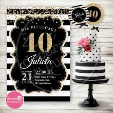 Kit Imprimible Personalizado Adultos 30 40 50 60 70 Anos