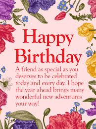 happy birthday friend messages with