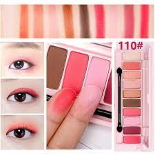 peach matte eye shadow palette