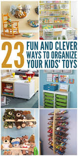 23 Fun And Clever Ways To Organize Toys Kids Room Organization Playroom Organization Organization Kids