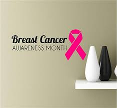 Amazon Com Southern Sticker Company Breast Cancer Awareness Vinyl Wall Art Inspirational Quotes Decal Sticke Home Kitchen