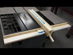 How To Make Your Own Wooden Fence For Your Table Saw Diy Table Saw Fence Table Saw Fence Table Saw