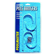 Poolmaster Aluminum Swimming Pool Pole Hangers 2 Pack 35607 The Home Depot