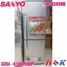 Tủ lạnh Sanyo SR-Q345RB (SS)
