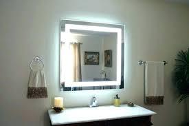 mirror vanity height lighting fixture