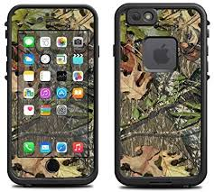 Amazon Com Skin For Lifeproof Iphone 6 Case Skins Decals Only Camo Leaves And Twigs Cover
