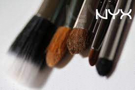 nyx makeup brushes under the rug