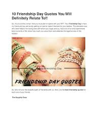 ppt friendship day quotes you will definitely relate to