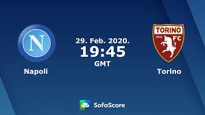 Napoli Torino live score, video stream and H2H results - SofaScore