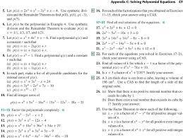 solving polynomial equations pdf free