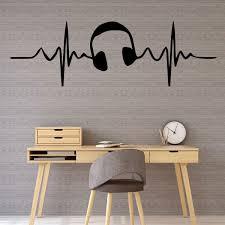 Music Themed Wall Decal Vinyl Decor Wall Decal Customvinyldecor Com