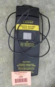 Lot 228zareba Digital Electric Fence Tester
