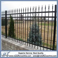China Commercial Ornamental Wrought Iron Fence Panels For Garden China Wrought Iron Fences And Welded Ornamental Fences Price