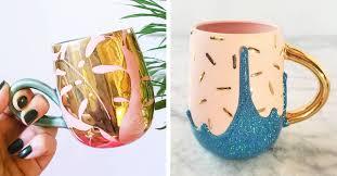 ceramic artist crafts dazzling mugs