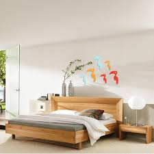3d Birds Flash Wall Decals 2 Pcs 8 Colors Acrylic Home Bedroom Living Room Wall Stickers Decor Alexnld Com