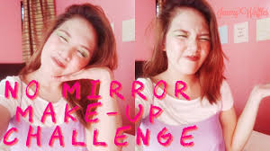 no mirror makeup challenge buzzfeed