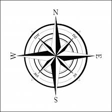 Compass Helping People To Find A Direction Compass Wall Art Compass Compass Art