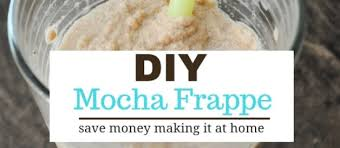 making mocha frappes at home my quest