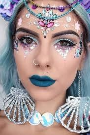 festival makeup shared by niñalunar on