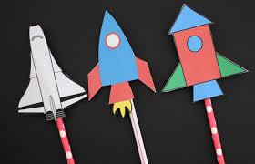 7 Ideas para crear un cohete espacial y disfrutar de la ciencia ...