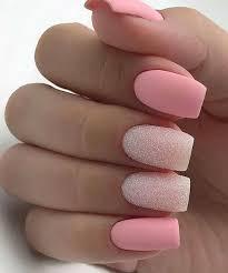 46 elegant matte short nails design