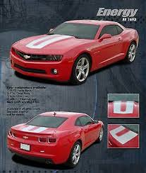 Energy Hood Rear Trunk Stripes 3m Vinyl Decals Graphics Chevy Camaro 2011 2013 111 18 Picclick