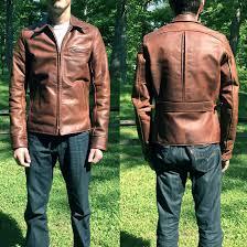 aero leather jacket customized 1930s
