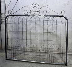 3 T By 4 W Woven Loop Fence Gate Ornamental Wire Vintage Look