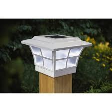 4x4 Copper Electroplated Prestige Solar Post Cap Led Deck Fence Lights 10 Pack