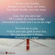 best rainbowbridge quotes status shayari poetry thoughts