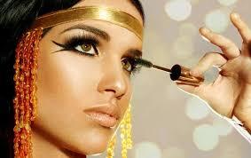 ancient egyptian eye makeup just