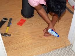 install a laminate floating floor