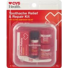 CVS Health Toothache Relief and Repair Kit