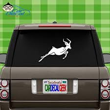 Amazon Com Impala African Animal Wildlife Vinyl Decal Sticker For Car Truck Window Laptop Macbook Wall Cooler Tumbler Die Cut No Background Multiple Sizes And Colors 8 Inch Yellow Automotive