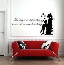 Book Wall Decal Reading Wall Decal Library Wall Decal Etsy In 2020 Book Wall Wall Quotes Decals Reading Wall