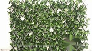 China Cheap Expandable Fabric Fence With Solar Light For Garden Decoration China Expandable Fabric Fence And Outdoor Artificial Expandable Hedge Price