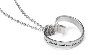 song of beloved e mobius necklace