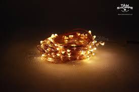 Dây đèn Led dây đồng Fairy Light 10m màu Vàng ấm, giá tốt nhất 100,000đ!  Mua nhanh tay!