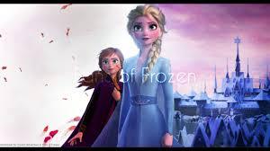 pc anna elsa wind in hair frozen 2