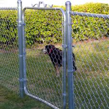 Yardgard Chain Link Fence Gate 4 H X 4 W Residential Galvanized Metal For Sale Online