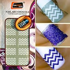 smart nails nail art stencils
