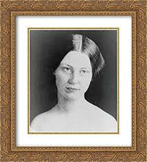 Amazon.com: Mary Abigail Fillmore, Hostess for President Fillmore at White  House 20x22 Double Matted Gold Ornate Framed Art Print: Posters & Prints