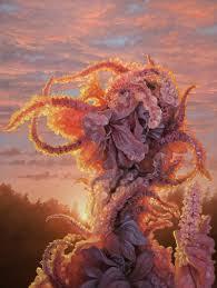 Swamp Gardener with Flower' by Adrian Cox - WOW x WOW Gallery